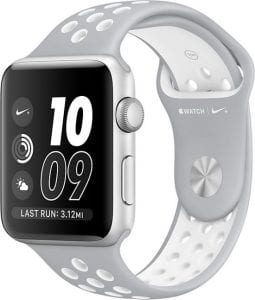 Beste zwemhorloges- Apple watch Nike